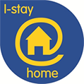 Logo I-stay@home