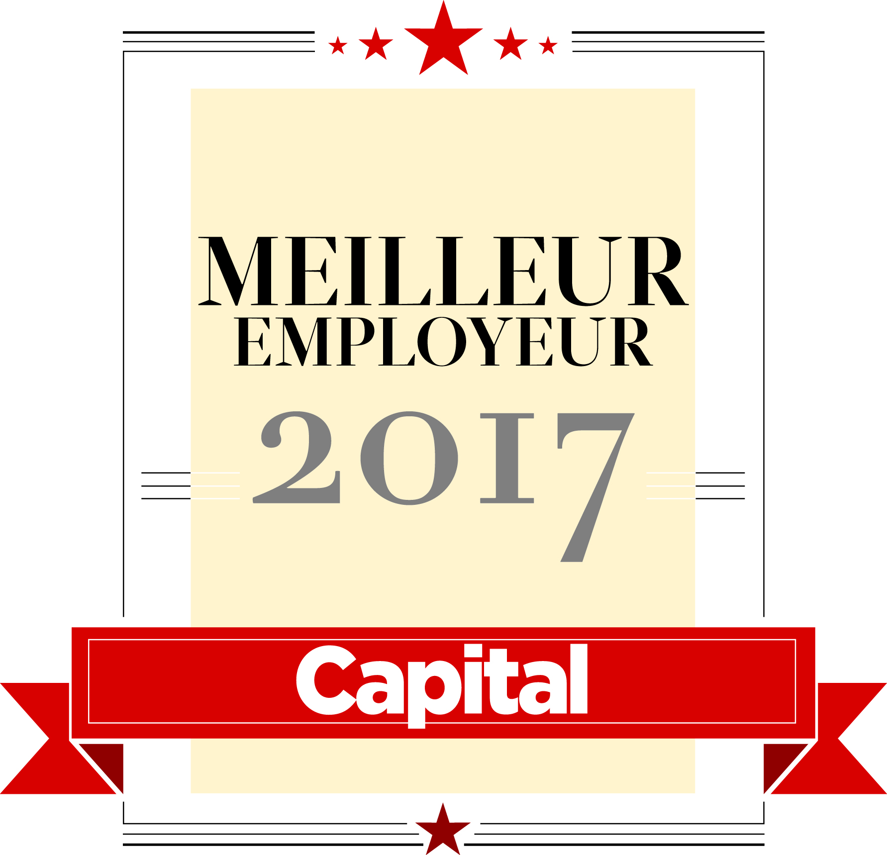 actu capital meilleurs employeurs 2017 vilogia. Black Bedroom Furniture Sets. Home Design Ideas